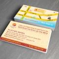Mẫu card visit khách sạn, địa danh, địa điểm nổi tiếng