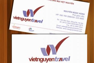 Mẫu card đẹp cho công ty du lịch
