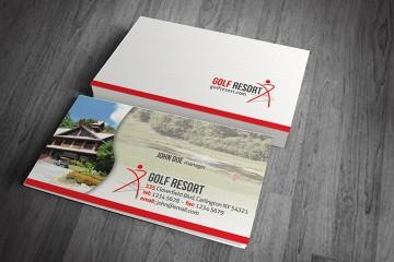 11+ mẫu thiết kế card visit khách sạn, resorts đẹp long lanh